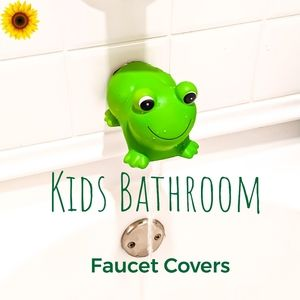 Cute Frog Faucet Cover 🐸